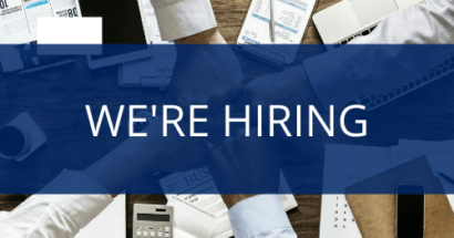 We're Hiring – Executive Assistant